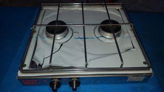 Cocina NÁUTICA 2 fuegos a gas