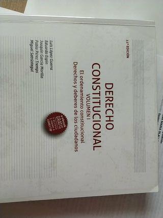 Derecho Constitucional Volumen I y II