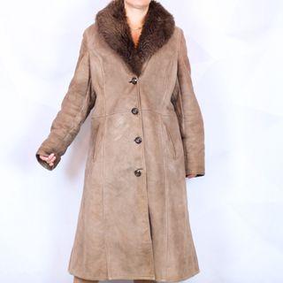Abrigo piel y pelo XXL