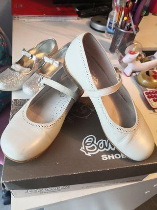 zapato niña comunion