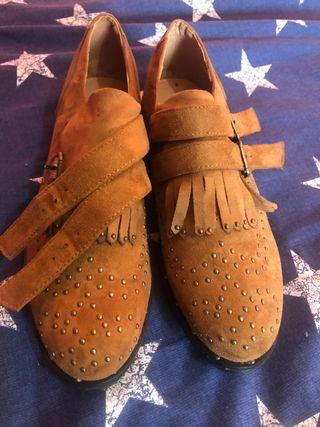 Zapato mujer tipo oxford