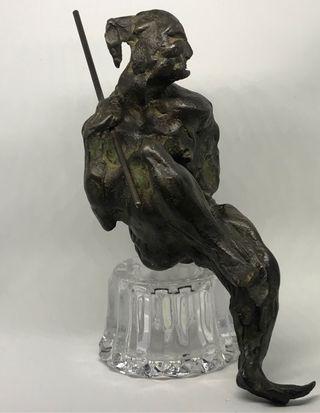 Escultura de Bronce firmada Víctor Ochoa.