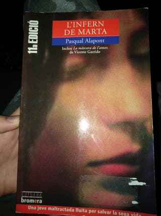 Libro L'Infern de Marta