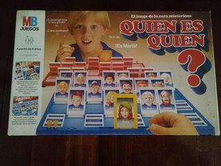 juego quién es quién 1986 original de MB