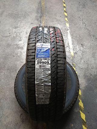 235 70 16 104T vendo neumáticos seminuevos al 99%