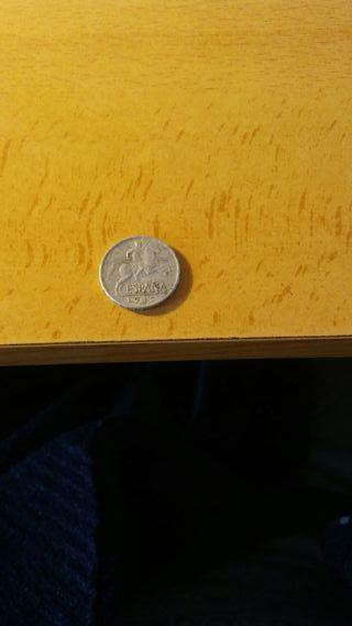 moneda 5 céntimos 1945