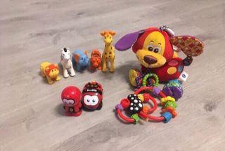 Lote juguetes bebe imaginarium vtech 0-12 meses