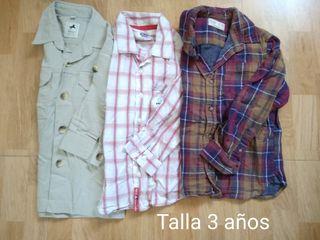 Camisas 3 años