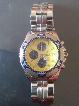 Reloj caballero cronografo sumergible Cauny.
