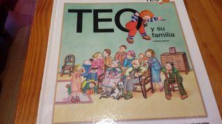 Libro infantil Teo.