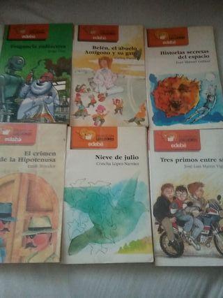 colección libros 8-12 años, Edebe