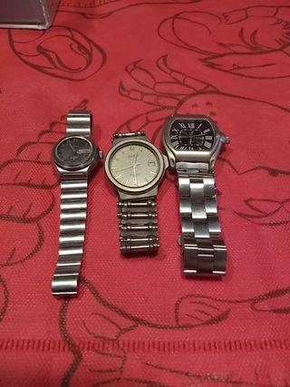 relojes varios