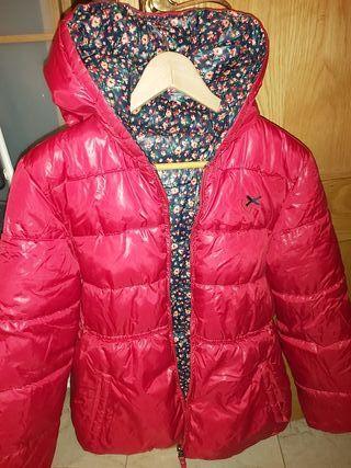 abrigo reversible niña