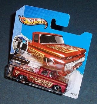 Pick-up CHEVROLET '62 - HOT WHEELS 1/64