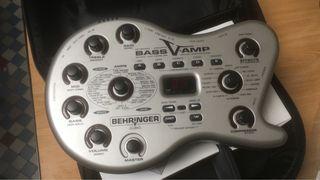 V-Amp bajo eléctrico y guitarra acústica