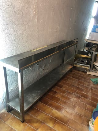 Mesa de acero inoxidable Hosteleria