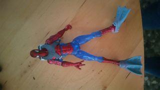 Spider-Man traje Acuatico Hasbro 2009