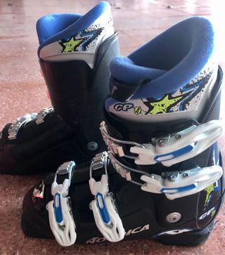 Botas esqui Junior Nordica GP Tj negras. Nº22,5