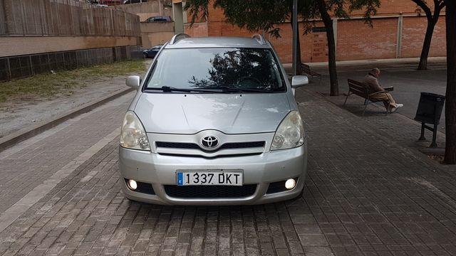 Toyota Corolla 2005 pegatina ambiental
