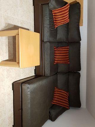 sofá con chaisselongue