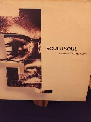 Disco vinilo soul II soul