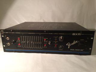 FENDER Dual Bass 400 BXR Series Amplificador bajo