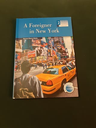 LIBRO LECTURA INGLES A FOREIGNER IN NEW YORK
