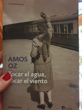 libro amos oz, tocar el agua tocar el viento