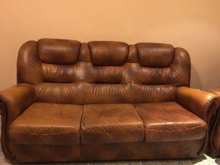 Sofá y sillones piel
