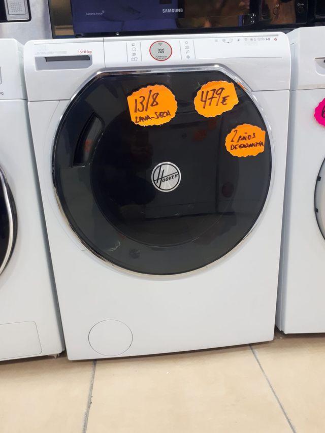 Lavadora secadora - Hoover AXI AWDPD 4138LH/1S