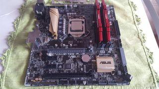 Pack i5 6600k + Asus Z170M Plus + 8gb ddr4
