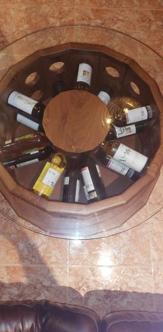 mesa botellero mueble