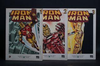 3 comics de Iron Man