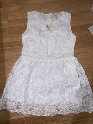 Vestido blanco ceremonia brave soul