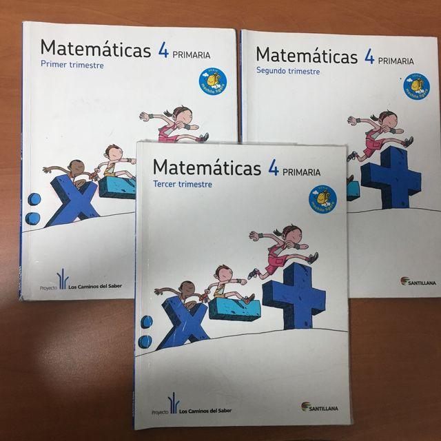 Matemáticas 4 PRIMARIA.