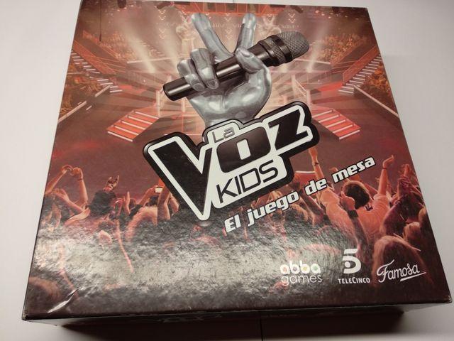 Juego de La Voz Kids de Famosa