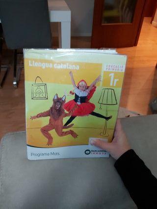 libro lengua catalana. primero de primaria