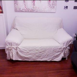 Funda de sofa 2 plazas basic el corte ingles
