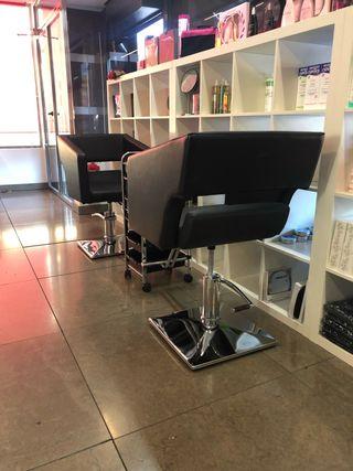Sillón de peluquería OLVI usado