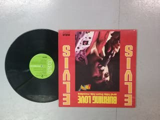 """""""Elvis"""",collection of used vinyl Lp.condition good"""