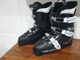 botas ski salomón team t3