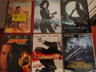 Películas DVD Colección