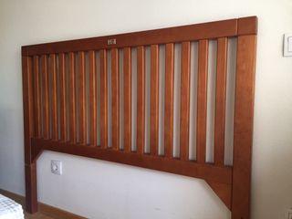 Cabecero madera cama 1,35 cm