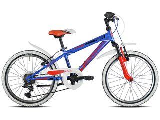 TORPADO Bicicleta MTB Junior Puma 20 AZUL/ROJO