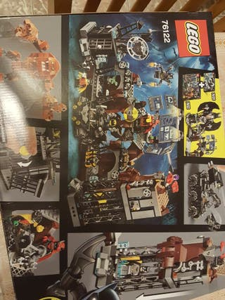 Batcave Clayface Invasion.+8años.Lego BATMAN