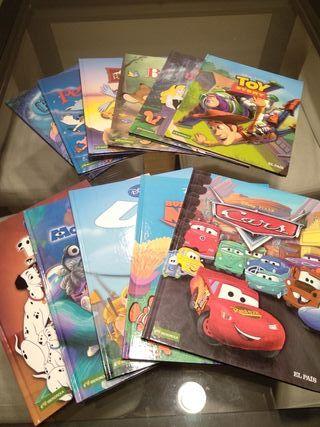 Colección Libros-Comics Disney Pixar