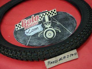 rueda delantera pirelli ml 14 nueva