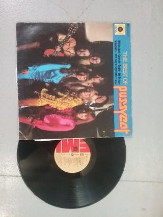 """PUSSYCAT""used vinyl."