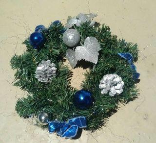 corona decoracion navidad