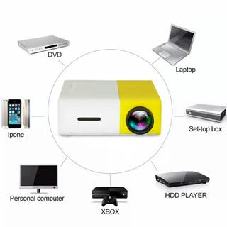 Mini Proyector Portátil Amarillo